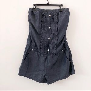 Guess Strapless Romper